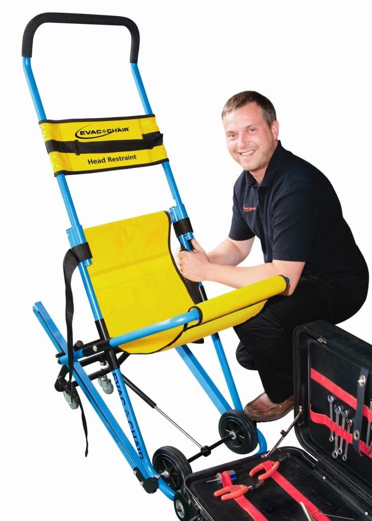 Evac Chair Servicing