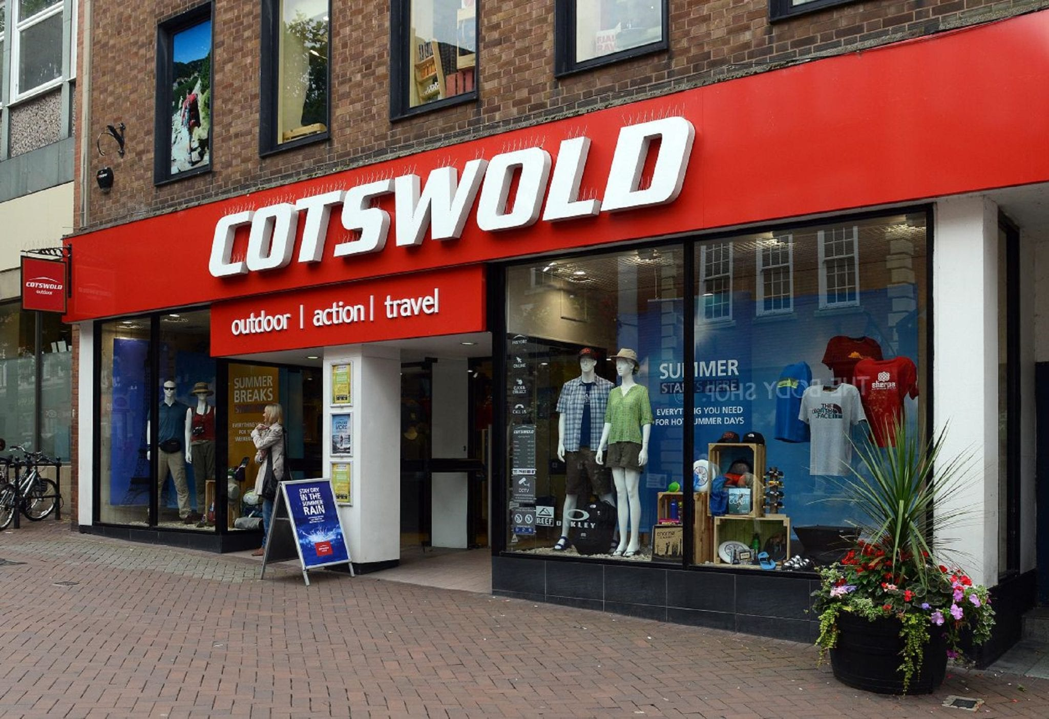 Cotswold Outdoor ensure safe descent for customers in store