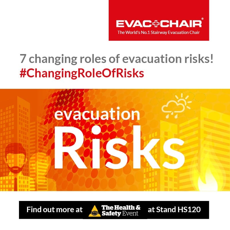 Evac+Chair attending Health and Safety Event