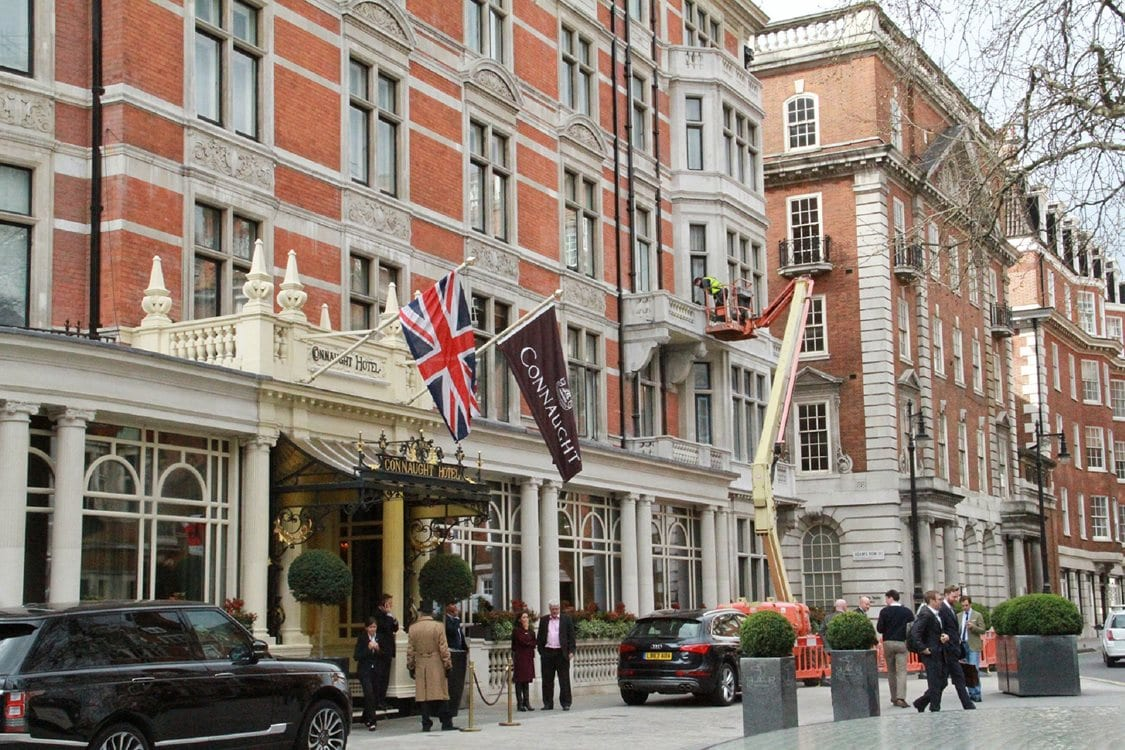 Evac+Chair's New Home of Luxury at the Connaught Hotel