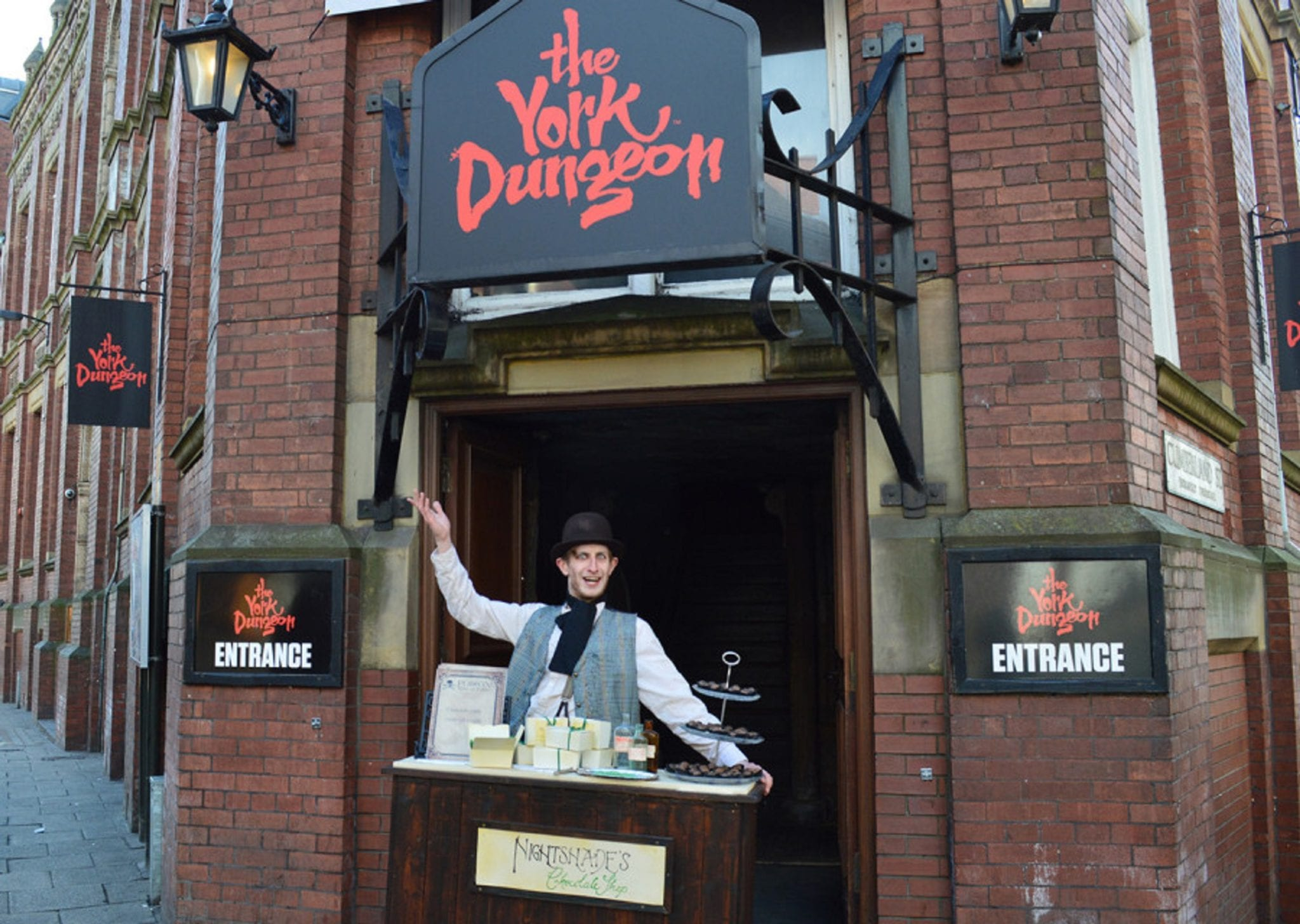 Visitors to York Dungeon are in safe hands