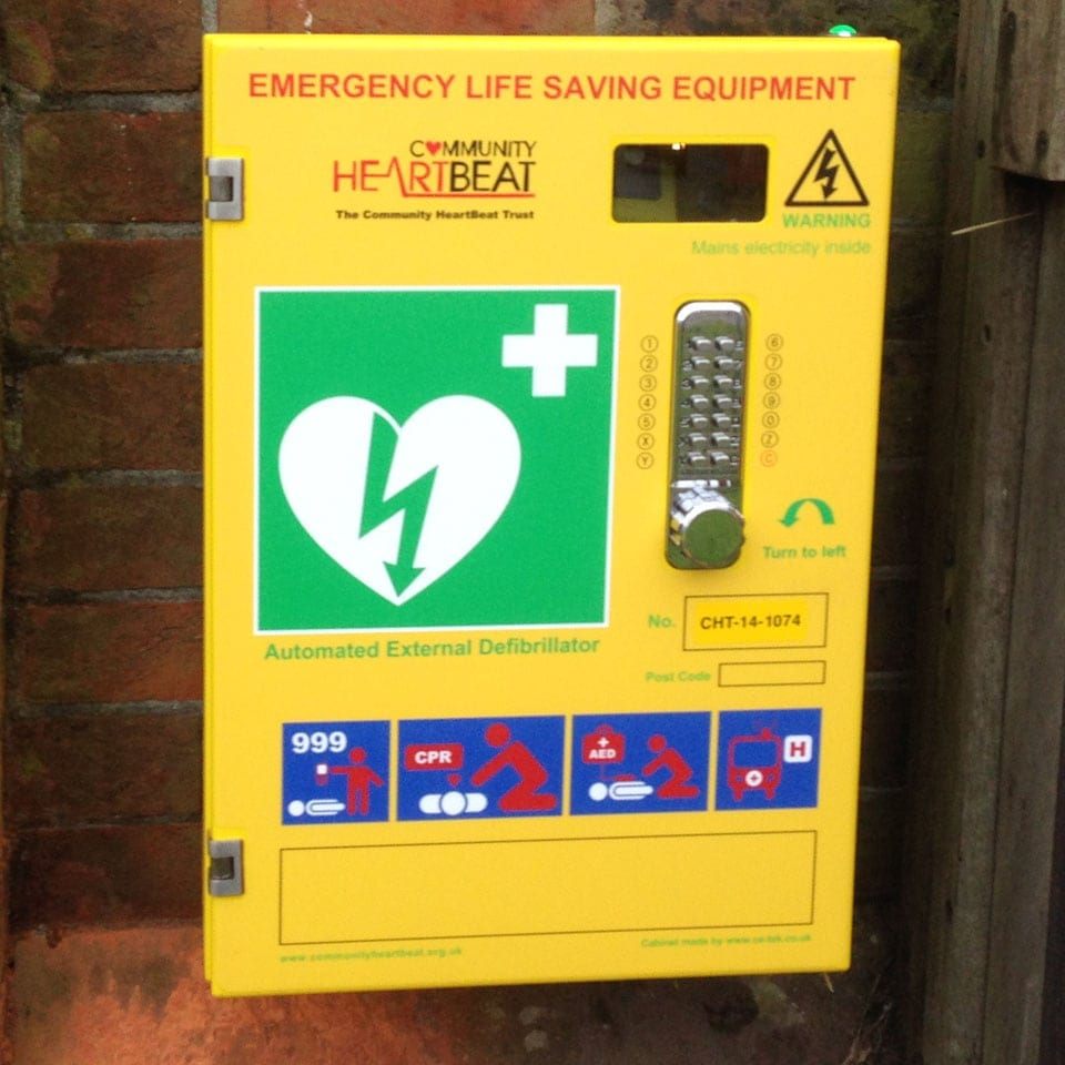 Birmingham receives its second public access defibrillator thanks to Evac+Chair International Ltd and St John Ambulance