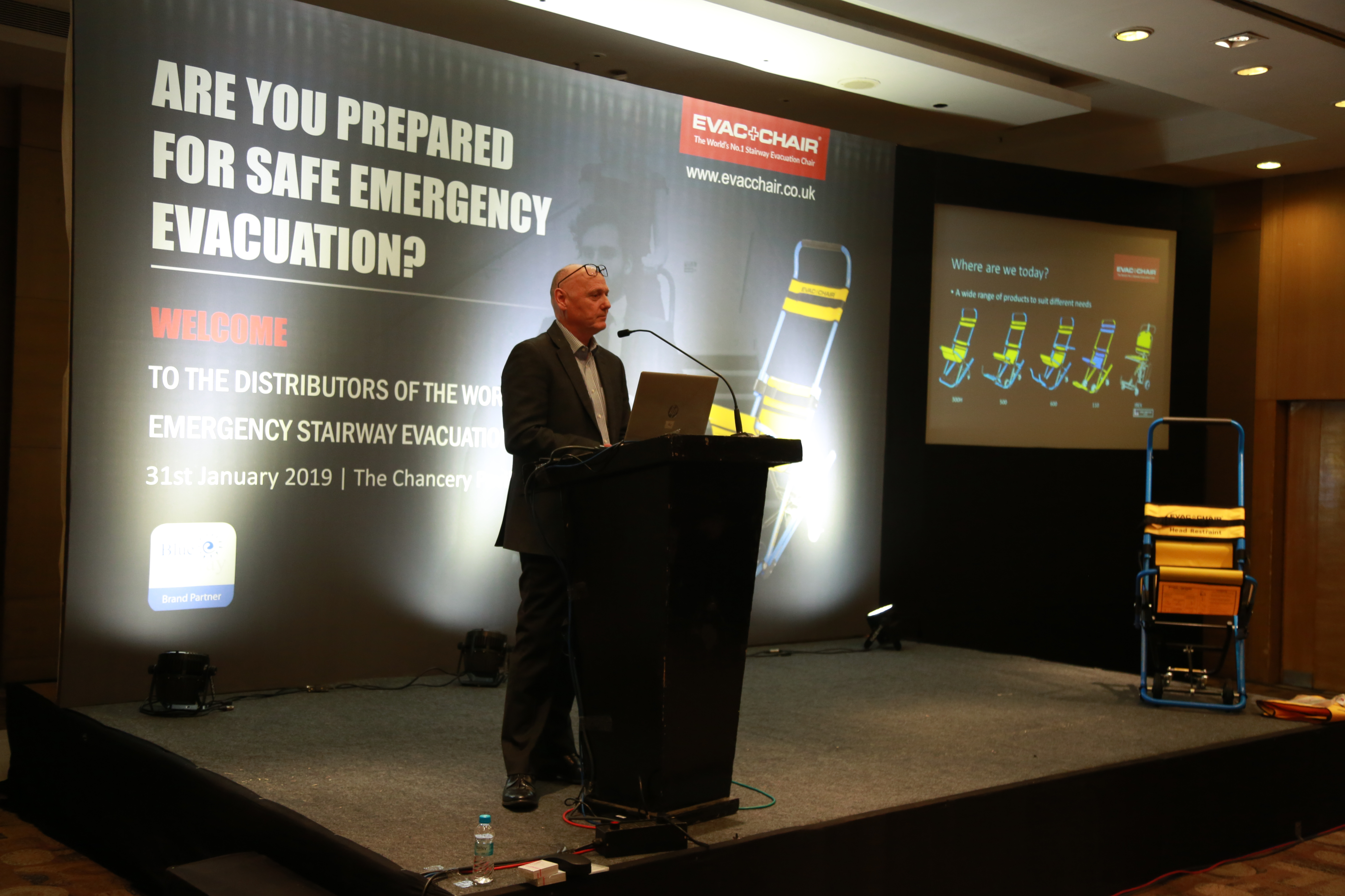 Evac+Chair Product Launch Event – India