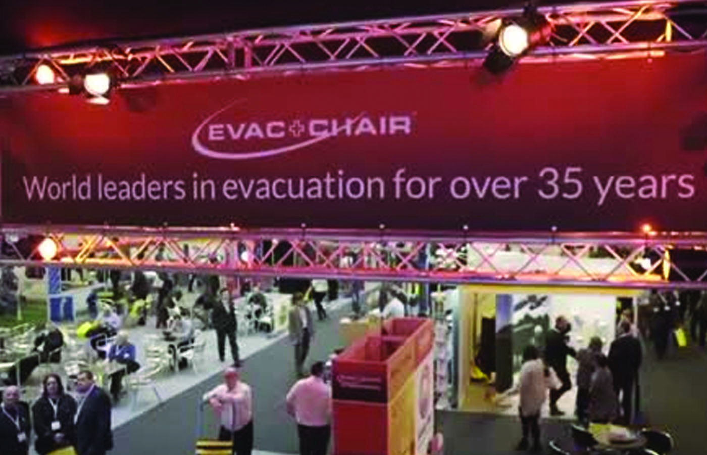 Evac+Chair International wins award at 2015 The Health & Safety Event