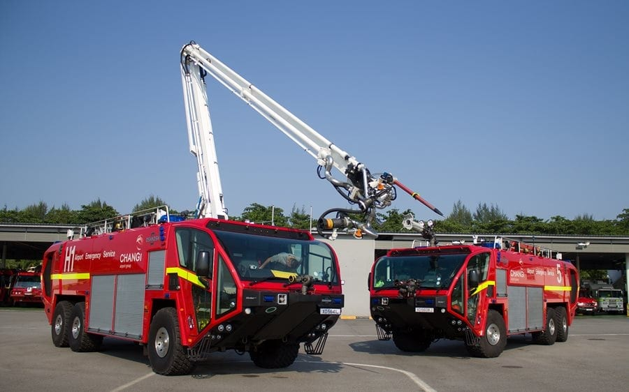 Fire Stations in Shanghai train to use the Evac+Chair