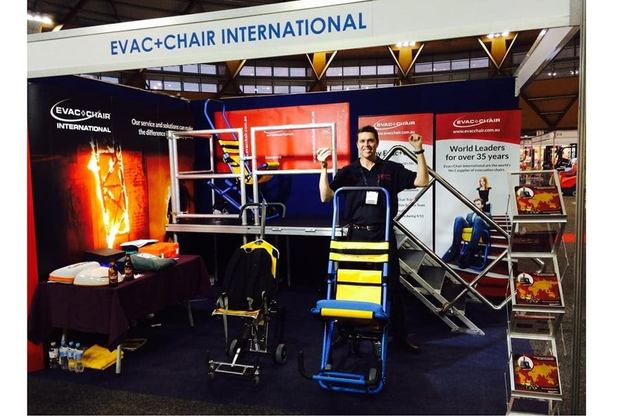Best new exhibitor stand at Safety in Action Sydney, Australia