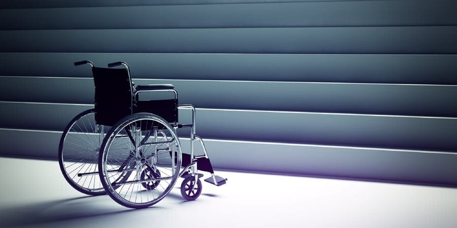 Disabled workers could be left stranded in emergencies, according to research by Evac+Chair