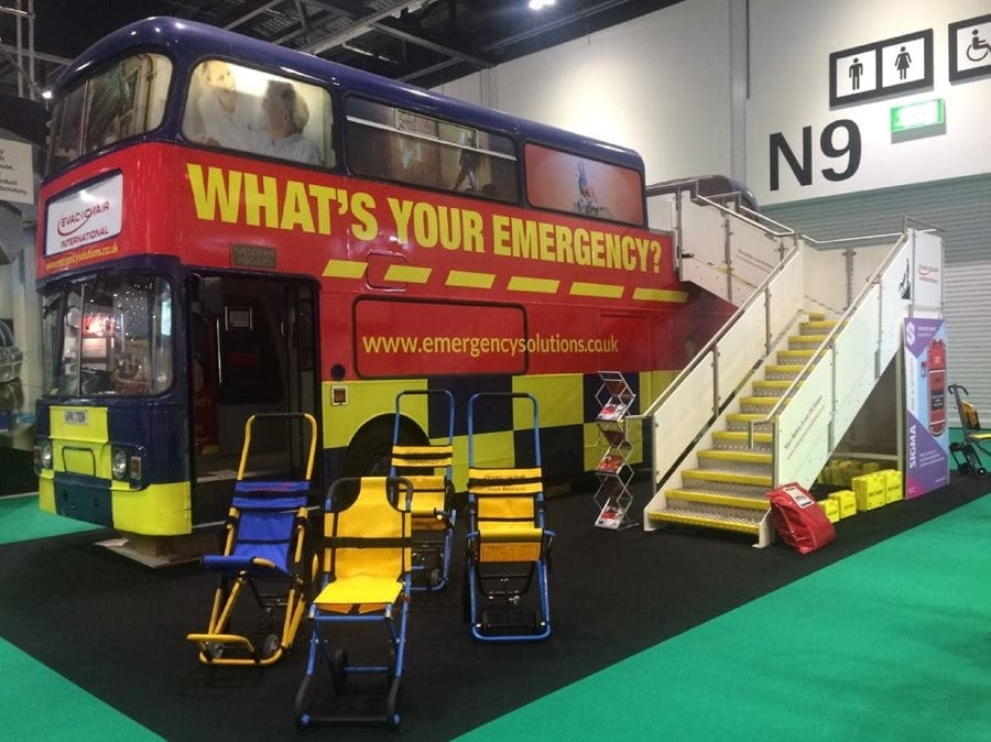 Evac+Chair attends NEC Safety & Health Expo